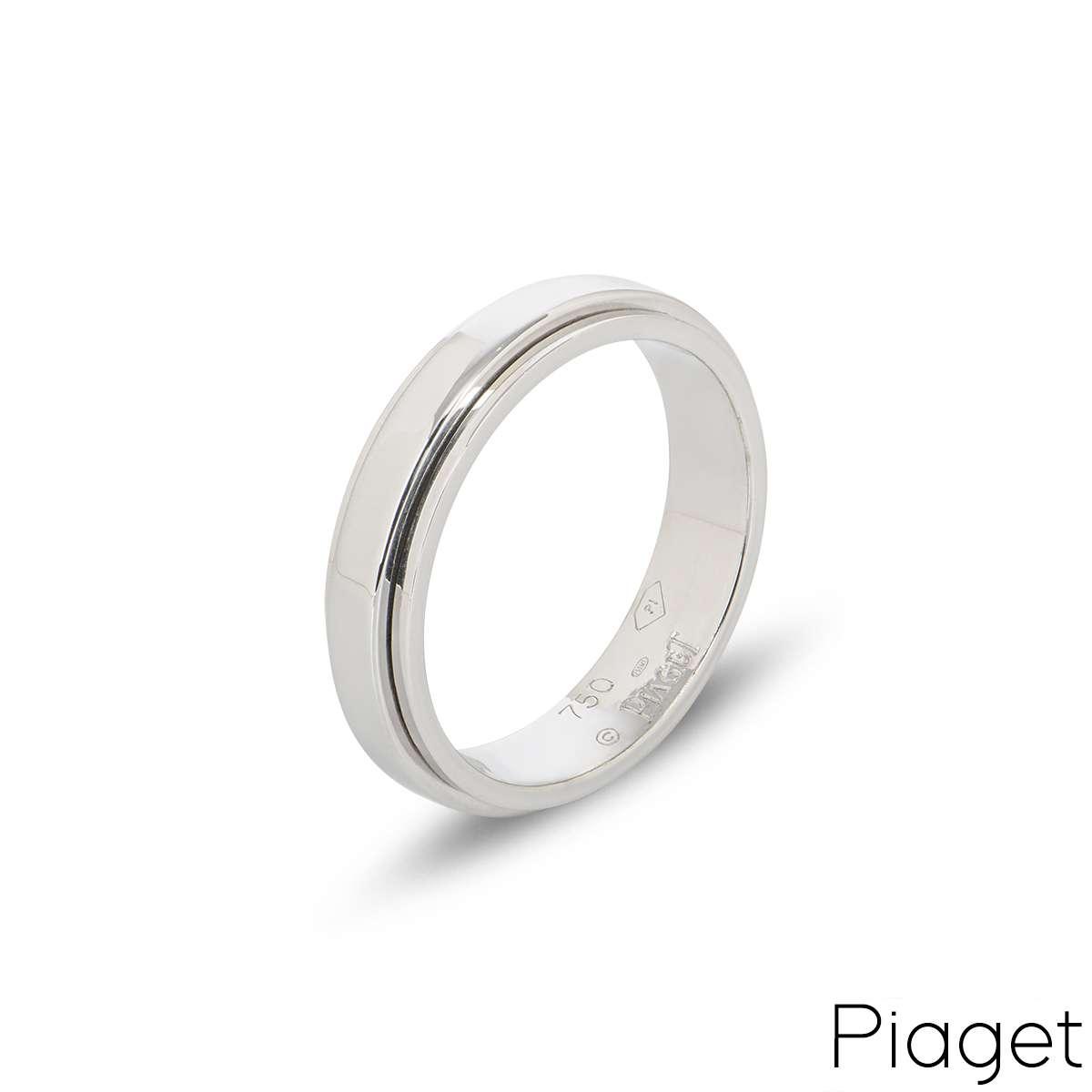 Piaget 18k White Gold Posession Ring B&P G34PK757